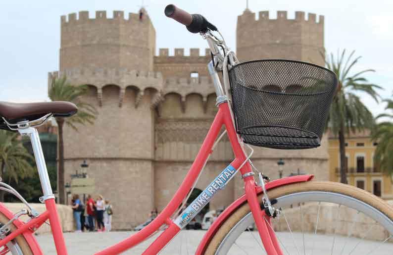 Bikes and Roll, alquiler de bicicletas en la ciudad de Valencia